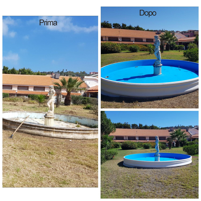 Restaurazione fontana Residence la Tonnara