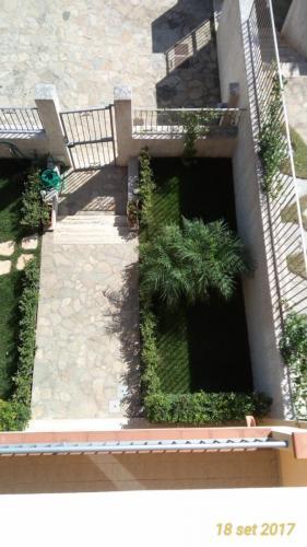 Giardino dopo dall'alto